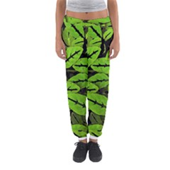 Nature Print Pattern Women s Jogger Sweatpants