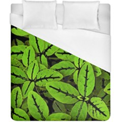Nature Print Pattern Duvet Cover (california King Size)