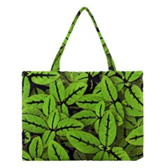 Nature Print Pattern Medium Tote Bag