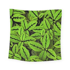 Nature Print Pattern Square Tapestry (small)