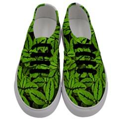 Nature Print Pattern Men s Classic Low Top Sneakers