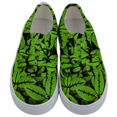 Nature Print Pattern Kids  Classic Low Top Sneakers
