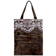 Shabbychicwoodwall Classic Tote Bag