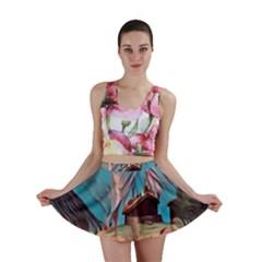 Modern Norway Painting Mini Skirt