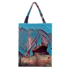 Modern Norway Painting Classic Tote Bag