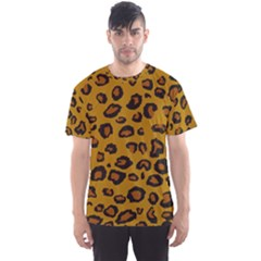 Classic Leopard Men s Sports Mesh Tee