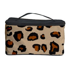 Leopard Print Cosmetic Storage Case