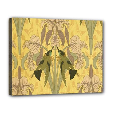 Art Nouveau Canvas 14  X 11