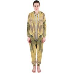 Art Nouveau Hooded Jumpsuit (ladies)