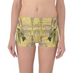 Art Nouveau Reversible Boyleg Bikini Bottoms