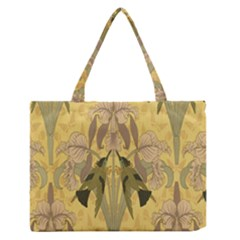 Art Nouveau Zipper Medium Tote Bag