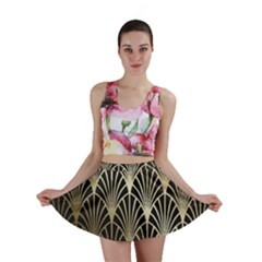 Art Deco Mini Skirt