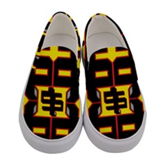 Color Yellow Women s Canvas Slip Ons