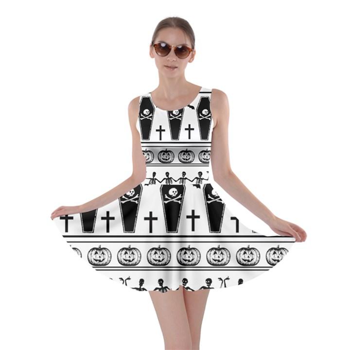 Halloween pattern Skater Dress
