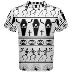 Halloween Pattern Men s Cotton Tee