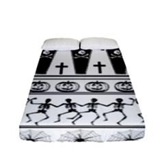 Halloween Pattern Fitted Sheet (full/ Double Size)
