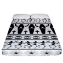 Halloween pattern Fitted Sheet (California King Size) View1