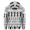 Halloween pattern Men s Zipper Hoodie View2