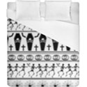 Halloween pattern Duvet Cover (California King Size) View1