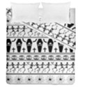 Halloween pattern Duvet Cover Double Side (Queen Size) View1