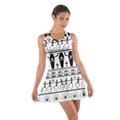Halloween Pattern Cotton Racerback Dress
