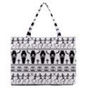 Halloween pattern Zipper Medium Tote Bag View1