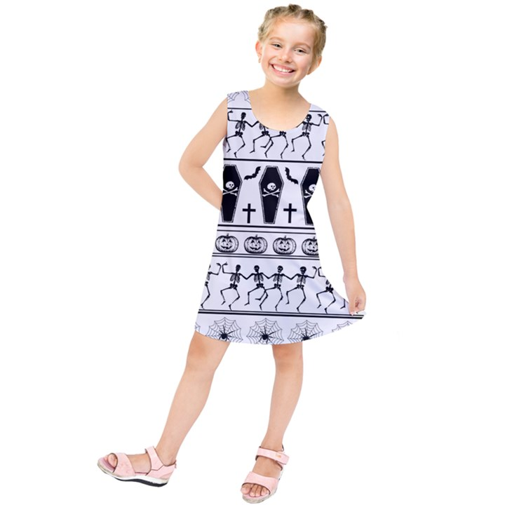 Halloween pattern Kids  Tunic Dress