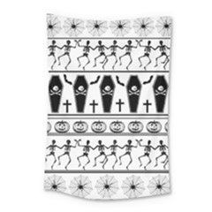 Halloween Pattern Small Tapestry