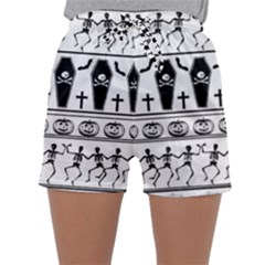 Halloween Pattern Sleepwear Shorts