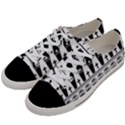 Halloween pattern Women s Low Top Canvas Sneakers View2