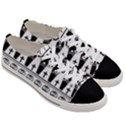 Halloween pattern Women s Low Top Canvas Sneakers View3