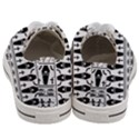 Halloween pattern Women s Low Top Canvas Sneakers View4
