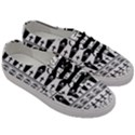 Halloween pattern Men s Classic Low Top Sneakers View3