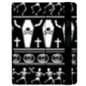 Halloween pattern Apple iPad 2 Flip Case View2