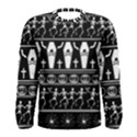 Halloween pattern Men s Long Sleeve Tee View1