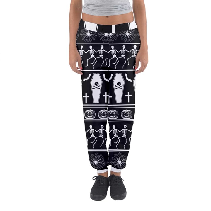 Halloween pattern Women s Jogger Sweatpants
