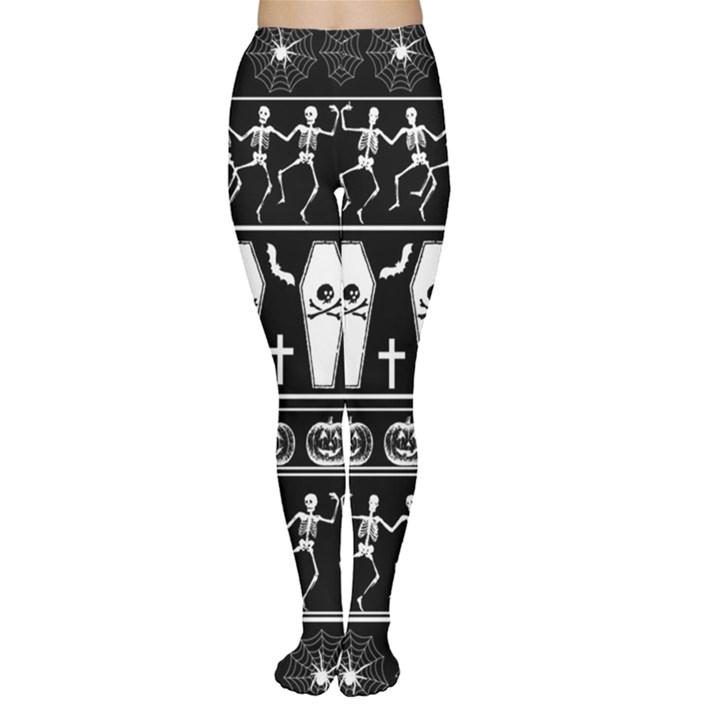 Halloween pattern Women s Tights