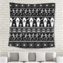 Halloween pattern Square Tapestry (Large) View2