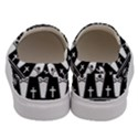 Halloween pattern Men s Canvas Slip Ons View4