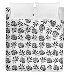 Vintage Roses Duvet Cover Double Side (queen Size)
