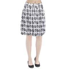 Vintage Roses Pleated Skirt