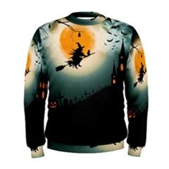 Halloween Landscape Men s Sweatshirt