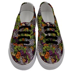 Halloween Pattern Men s Classic Low Top Sneakers