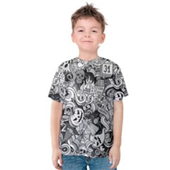 Halloween Pattern Kids  Cotton Tee