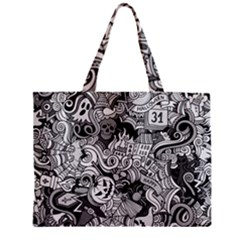 Halloween Pattern Mini Tote Bag