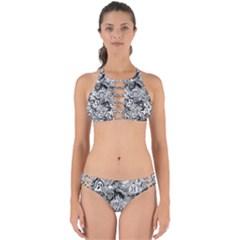 Halloween Pattern Perfectly Cut Out Bikini Set