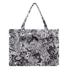 Halloween Pattern Medium Tote Bag