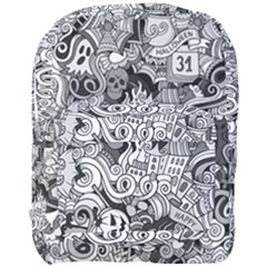 Halloween Pattern Full Print Backpack