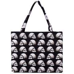 Halloween Skull Pattern Mini Tote Bag