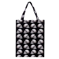 Halloween Skull Pattern Classic Tote Bag